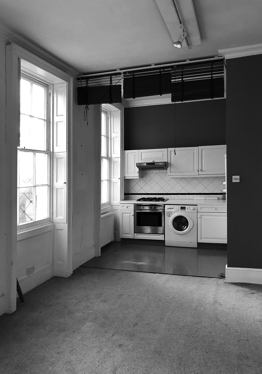 Highbury Apartment: Before refurbishment