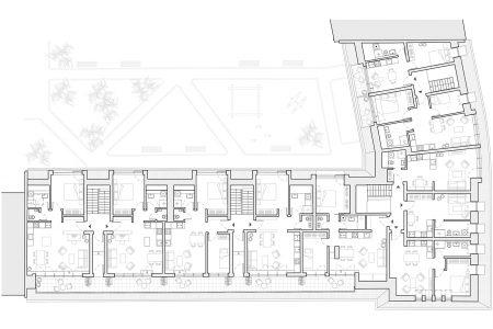 Dachausbau Trelleborger 1, Grundriss