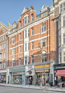 Marylebone Penthouse, exterior view