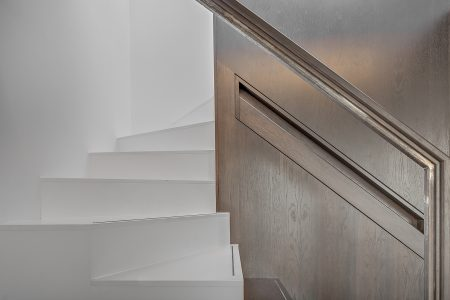 Marylebone Penthouse, staircase detail