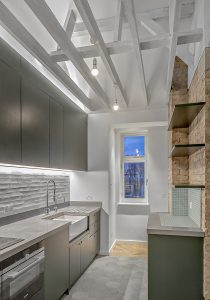 Marylebone Penthouse, kitchen