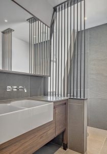 Marylebone Penthouse, bathroom detail