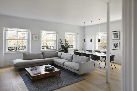 Kensington Gardens Apartment, living room