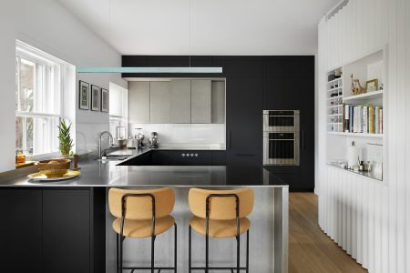 Kensington Gardens Apartment, kitchen