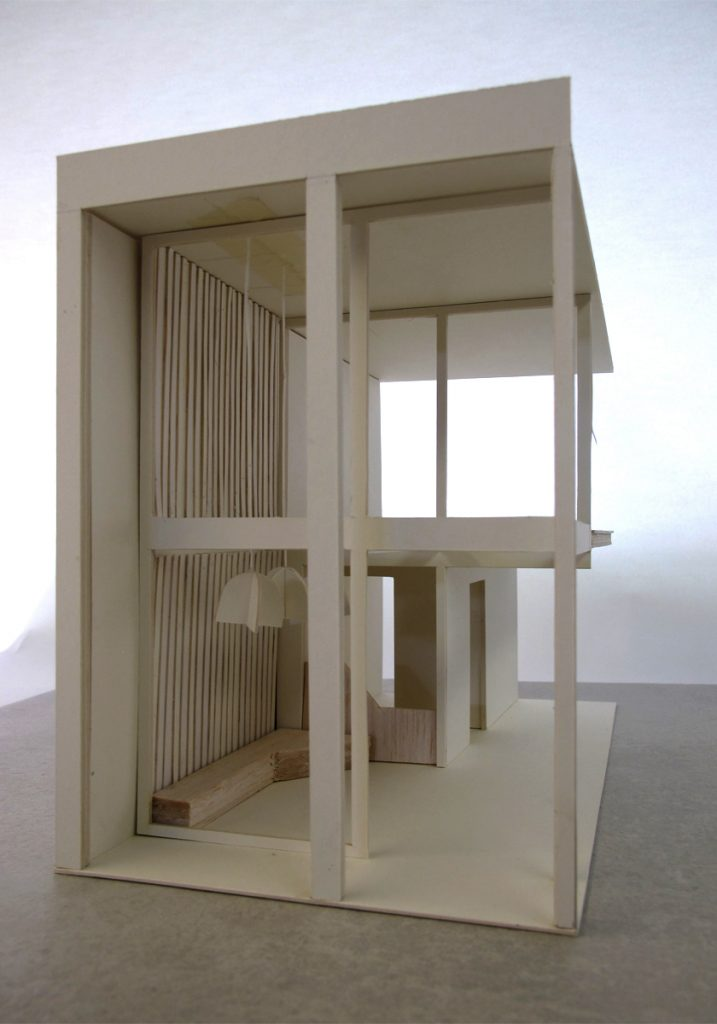 Container Architektur, Model der Eingangssituation