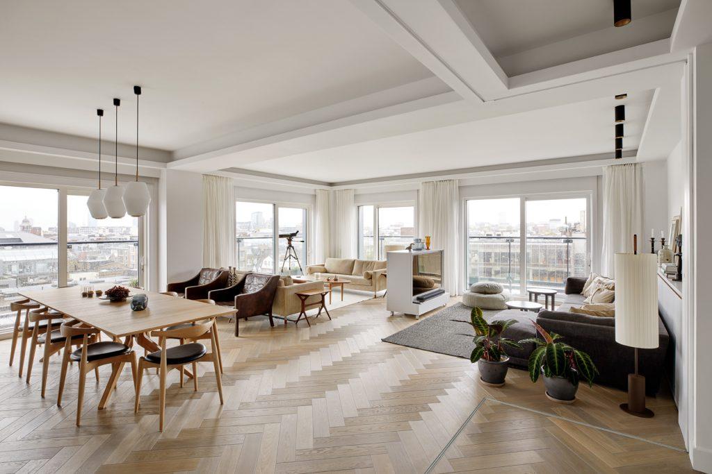 Penthouse, Wohnraum