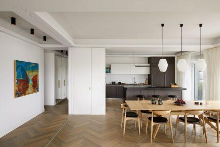 Penthouse, Essbereich und Küche