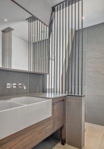 Loftausbau, Detail Badezimmer