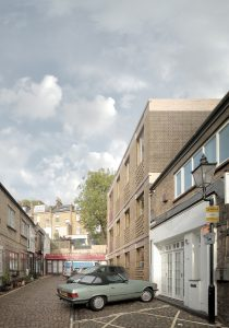 Primrose Mews House, external