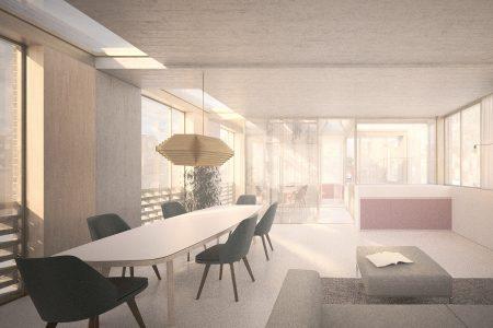 Primrose Mews House, living room