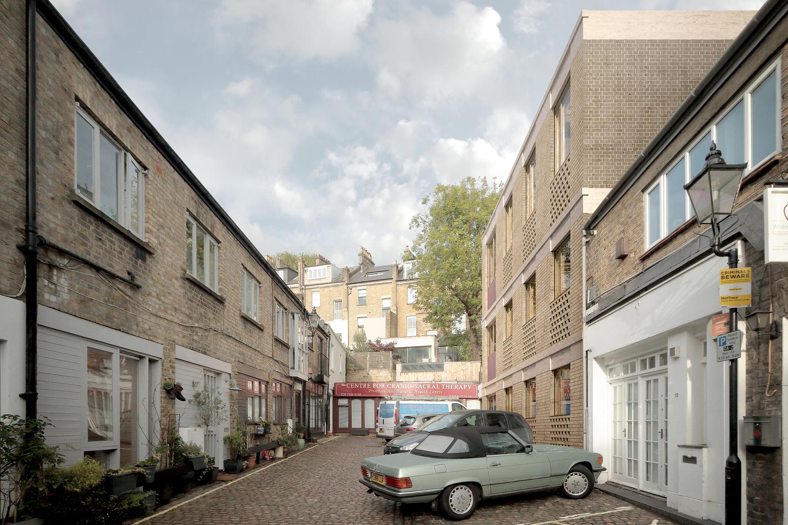 Primrose Mews House, external