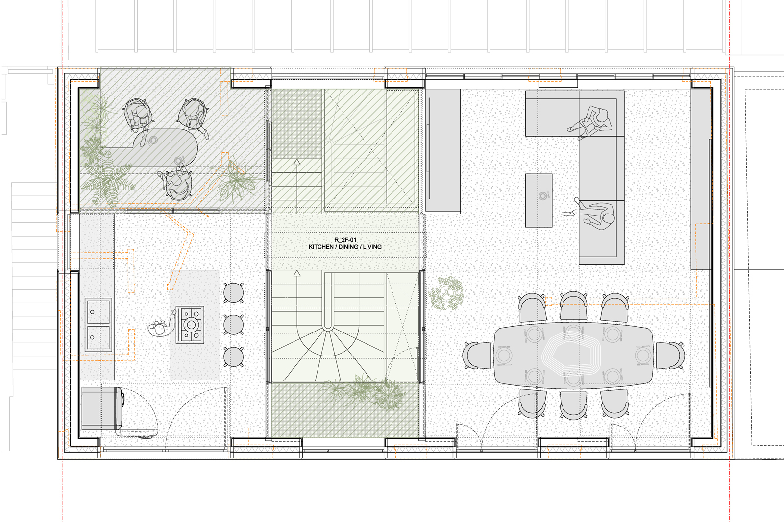 Primrose Mews House, 2nd floor plan