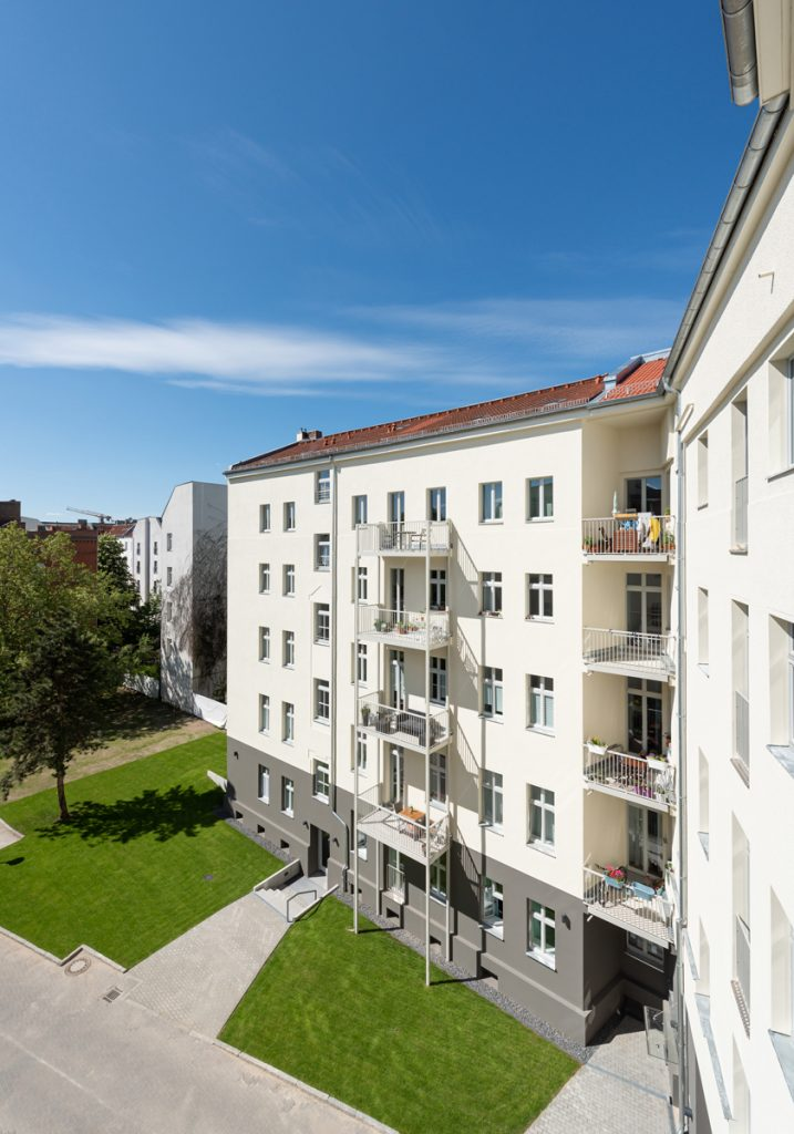 Patalab Architekten, Reinickendorfer Straße 65 & 66, Innenhof