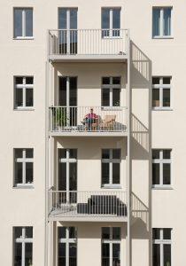 Altbaumodernisierung, neue Balkone
