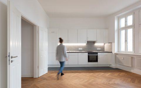 Altbaumodernisierung, Wohnküche