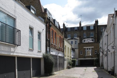 Marylebone Mews House: street view