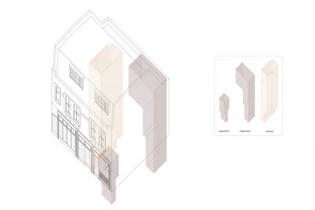 Marylebone Mews House, concept drawing