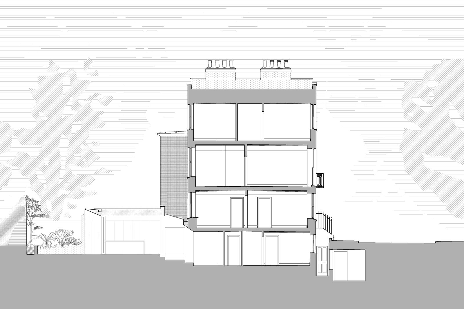 Knightsbridge House, Section