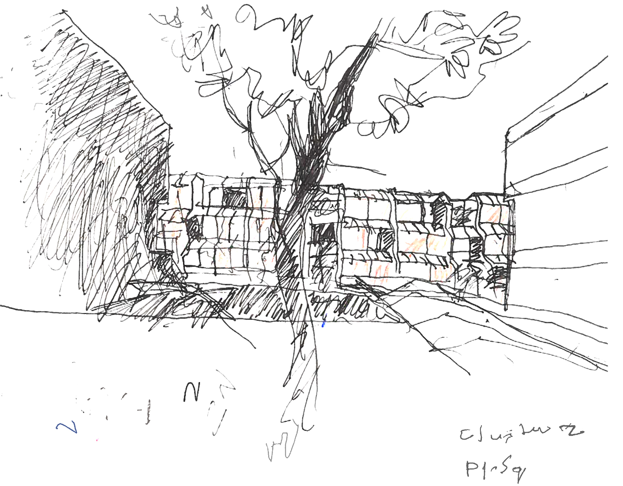 Highgate New Town, Sketch of play square