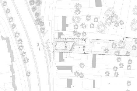 Neubau Wohn und Geschäftshaus, Lagplan
