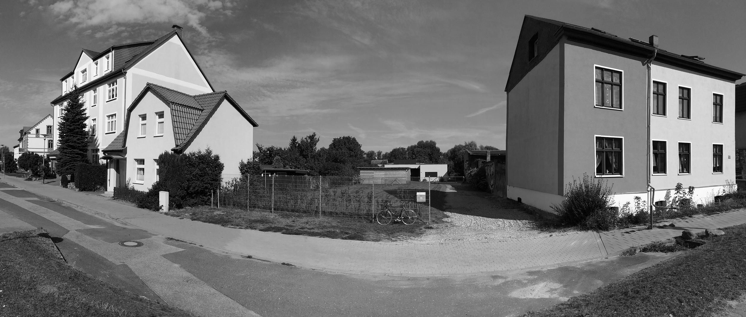 Neubau Wohn und Geschäftshaus, Baugrundstück