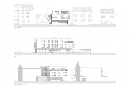 Rostocker Strasse, elevations