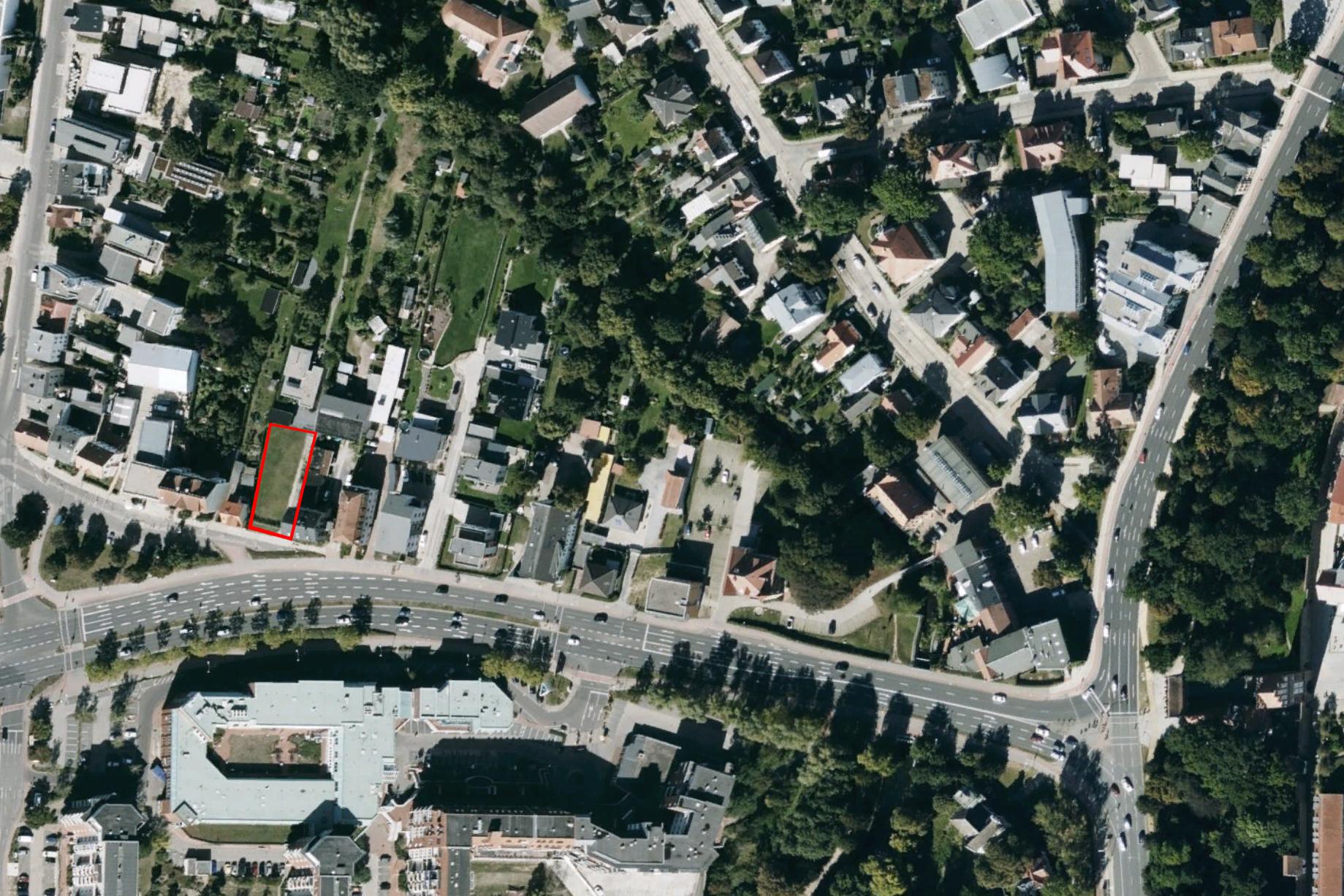Rostocker Strasse, aerial view