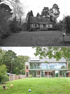 Pre-Purchase Architect Advice: The Coppice before and after