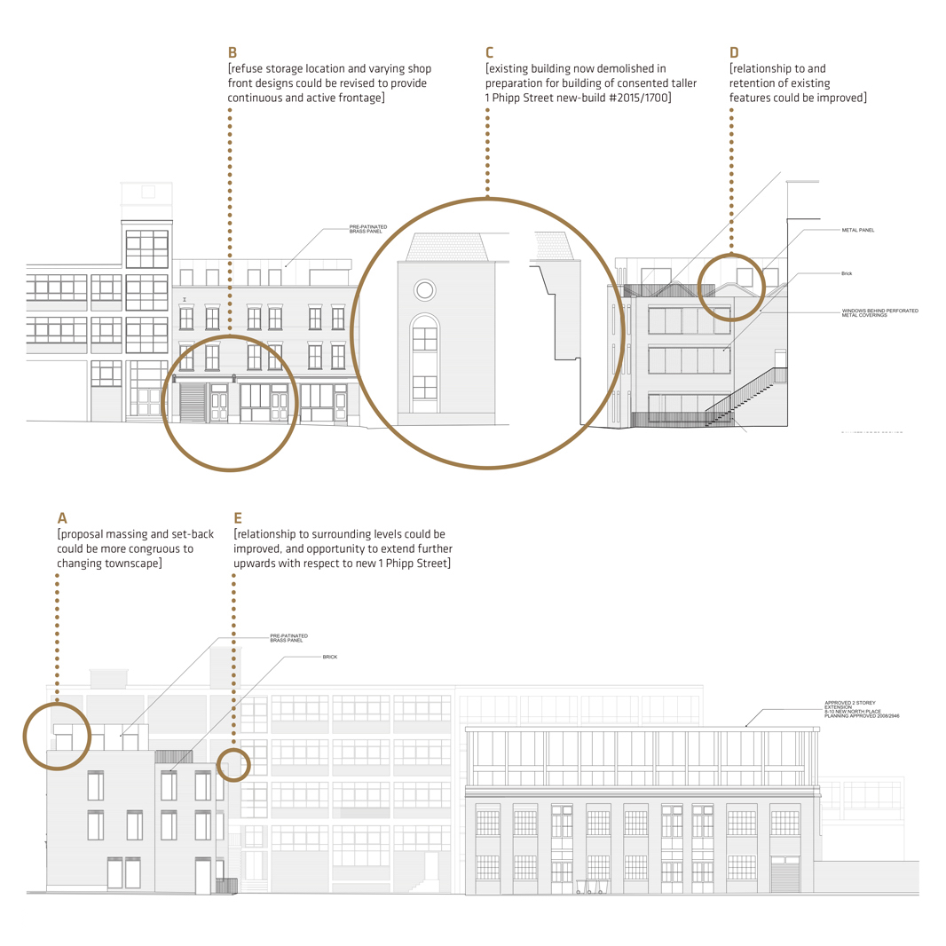 architectural drawing, analysing planning context