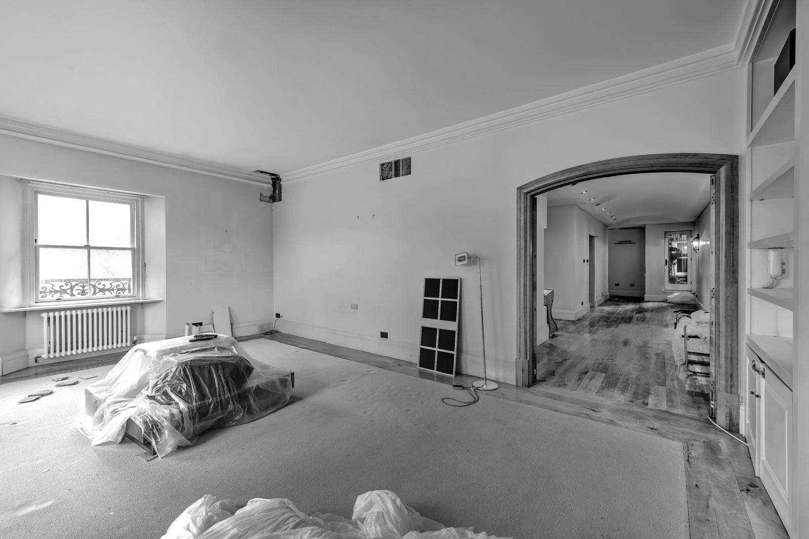 Wohnzimmer vor der Modernisierung