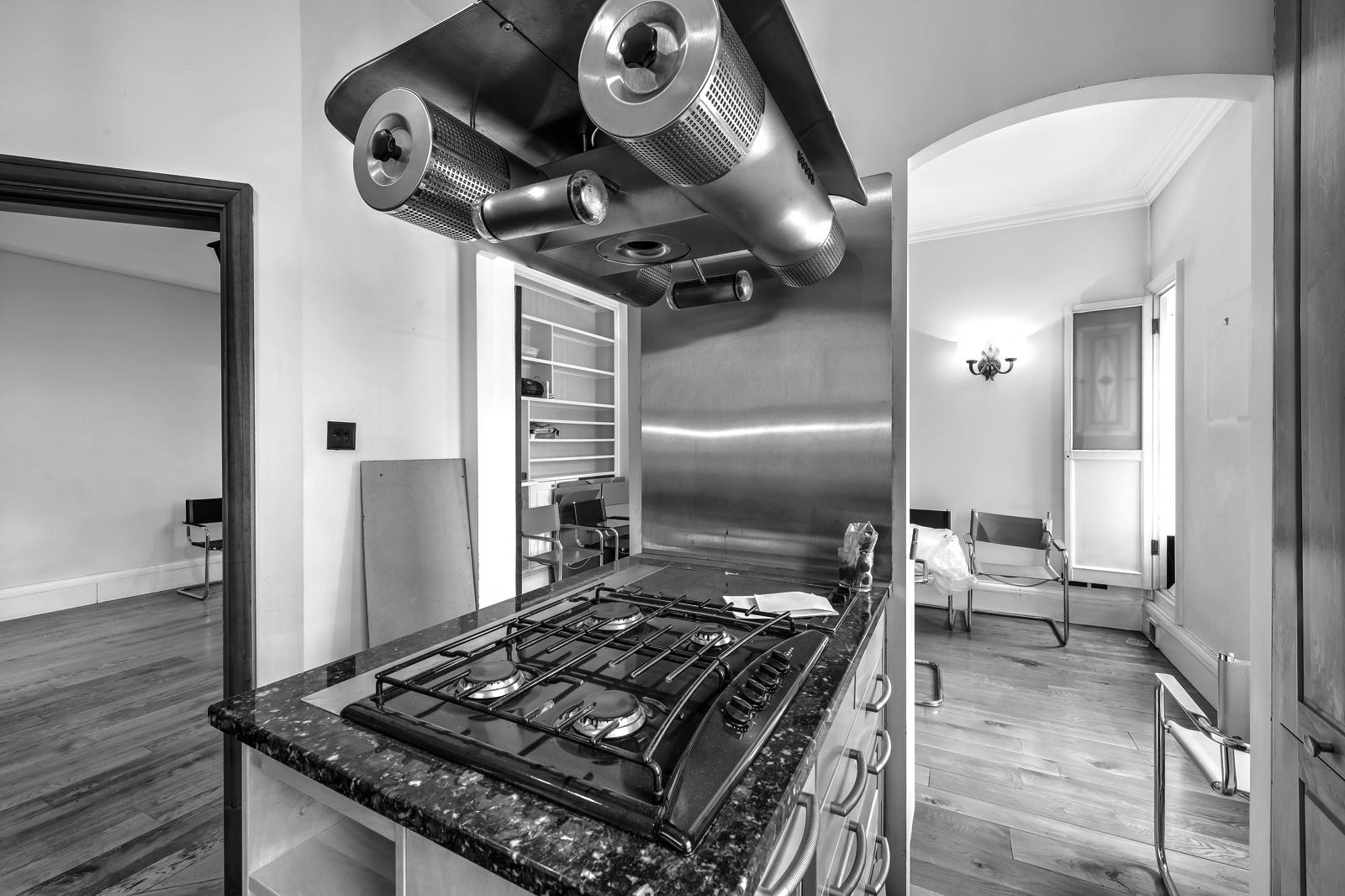 Küche vor der Modernisierung