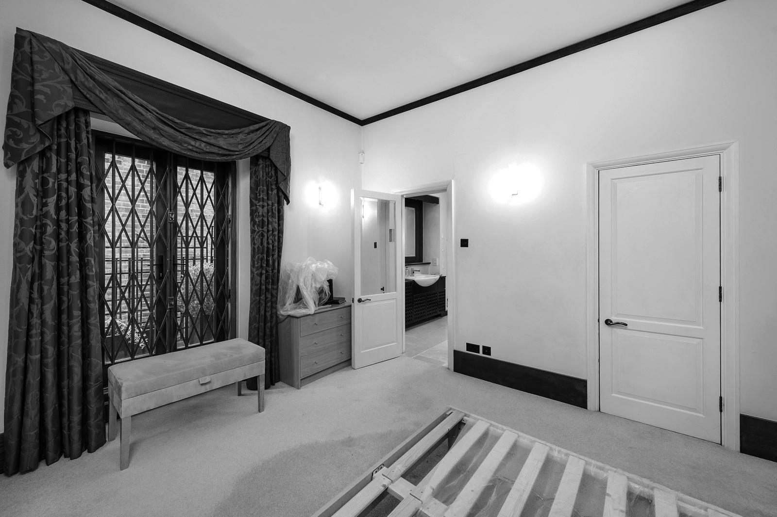 Schlafzimmer vor der Modernisierung