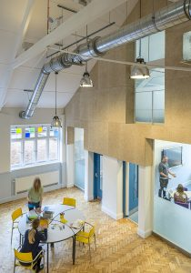 Snowflake School for Children with Autism, double storey high hall