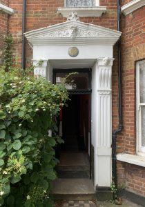 Hamilton Gardens Townhouse: entrance