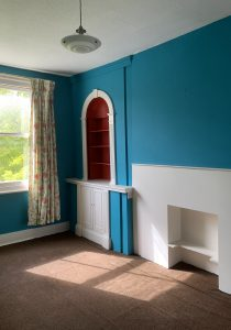 Hamilton Gardens Townhouse: existing interior