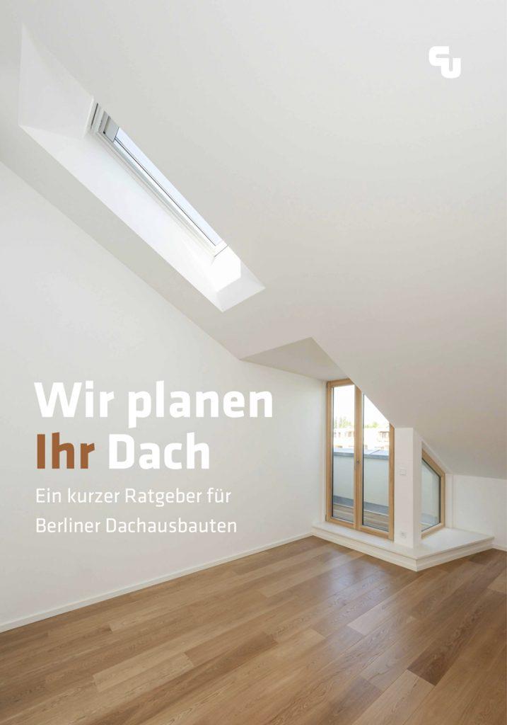 Ratgeber Berliner Dachaubauten: Cover