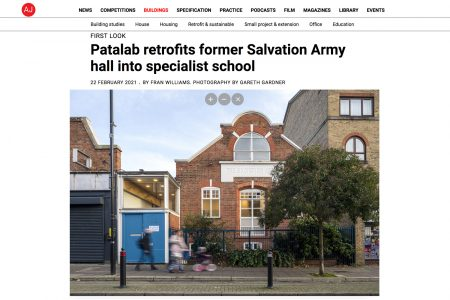 Retrofit of former Salvation Army hall, AJ feature