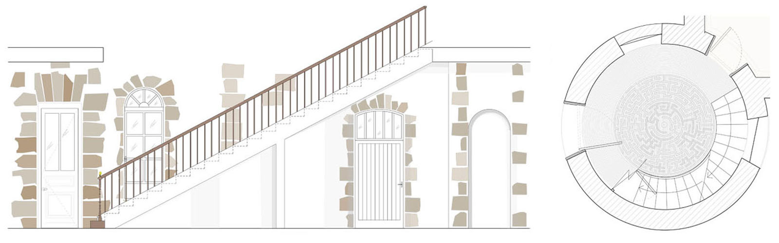 Chateau Refurbishment, proposed entrance