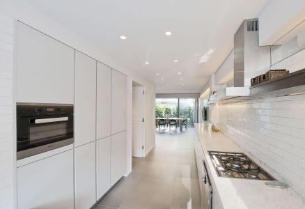Eklektisches Haus, Küche