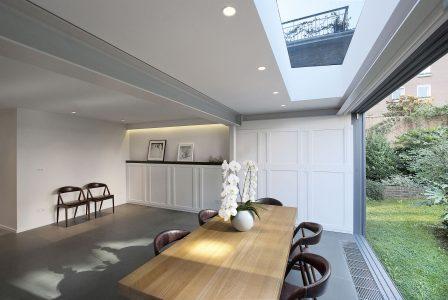 Eklektisches Haus, Essbereich