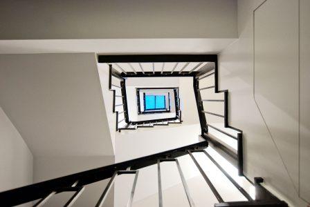 Eklektisches Haus, Treppenauge