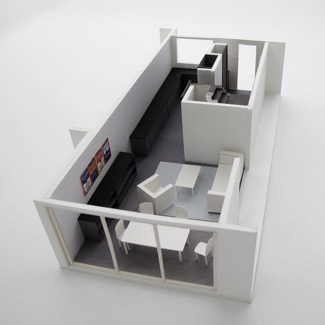 Eklektisches Haus, Entwurfsmodell