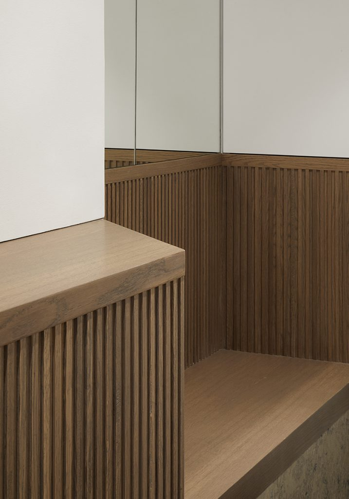 Perrins Court office, joinery detail