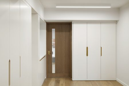 Perrins Court office, built-in joinery