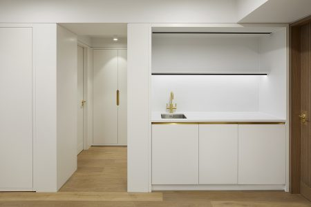 Perrins Court office, kitchenette