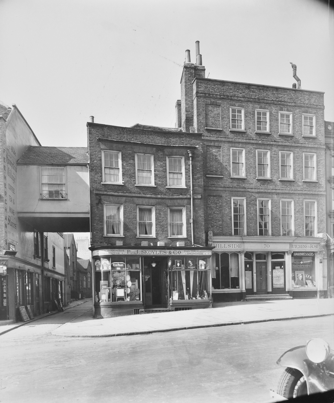 Hampstead office, Historic view