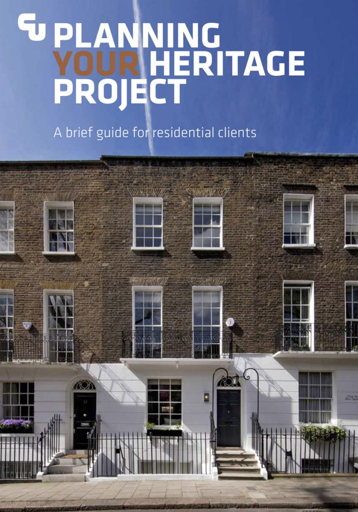 Historic Buildings: heritage planner cover