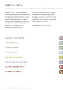 Historic Buildings: heritage planner content