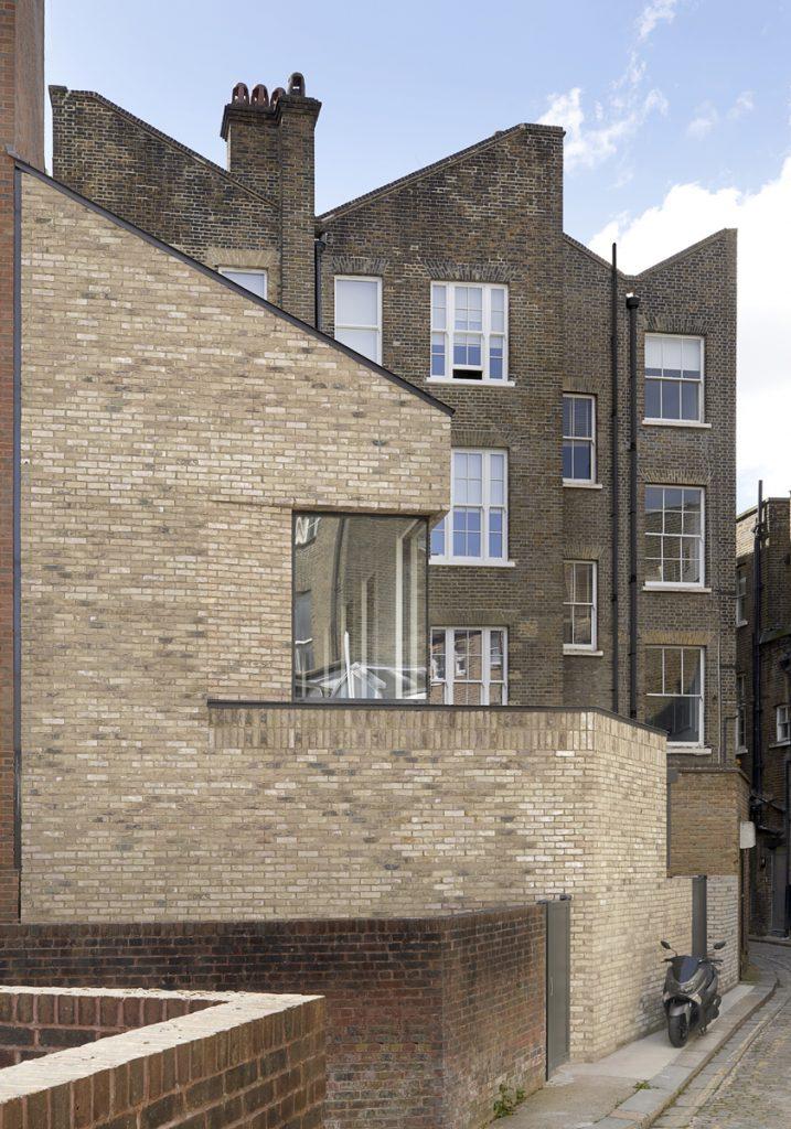The Bird in Hand Hampstead: rear facade