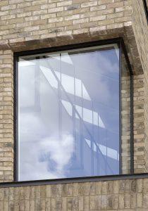 The Bird in Hand Hampstead: corner window